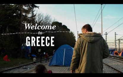 The Greek hairdresser who has helped more than 20,000 refugees after 'catastophe' arrived on his doorstep
