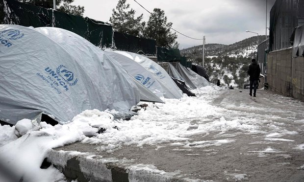 UK urged to transfer child refugees from freezing Europe camps