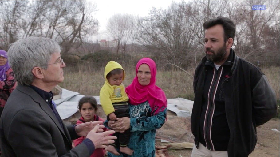 In a Syrian refugee camp: I would tell President Trump 'to come and see' us