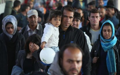 Germany 'spent more than €20bn on refugees in 2016' as crisis outstrips state budgets