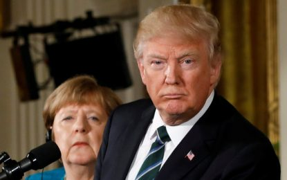 Angela Merkel Gave An Impassioned Plea For Refugees. Trump Ignored Her.
