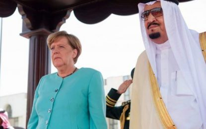Germany's Merkel to press Saudi Arabia on refugees' rights