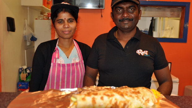 From Sri Lanka to Stokes Valley for Red Cross chef and refugee