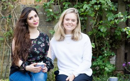 I gave a room in my house to a refugee – now she's like my sister