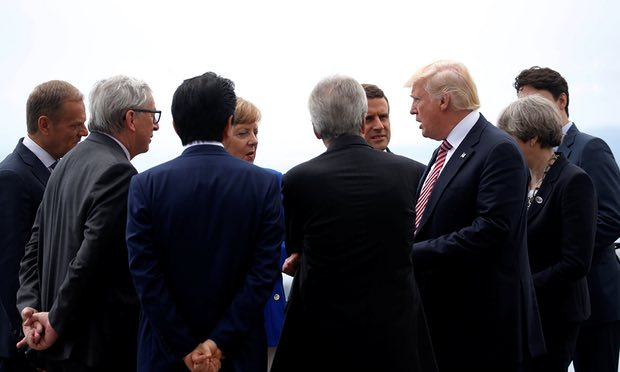 Hopes for refugee crisis plan fall into chasm between G7 and Trump