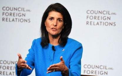 Haley Urged to Seek a Comprehensive Solution to Syrian Refugee Crisis During Upcoming Trip to Jordan and Turkey