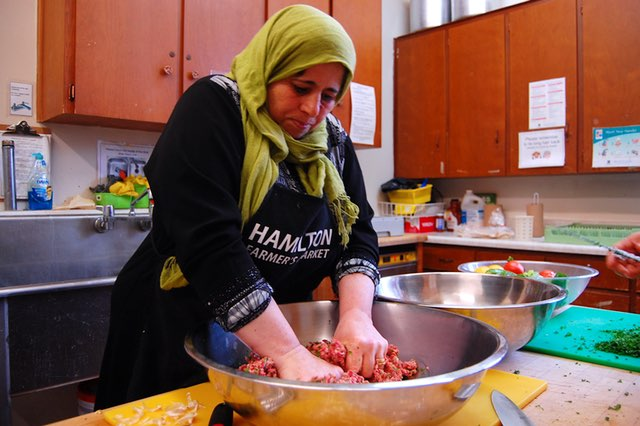Refugee Women Bring Tastes of Syria to Canada's Tables