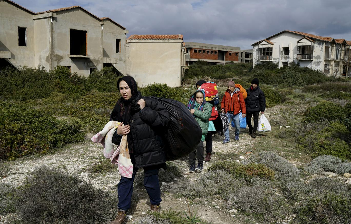 Thousands of refugees on Greek islands risk losing vital services as charities prepare to withdraw