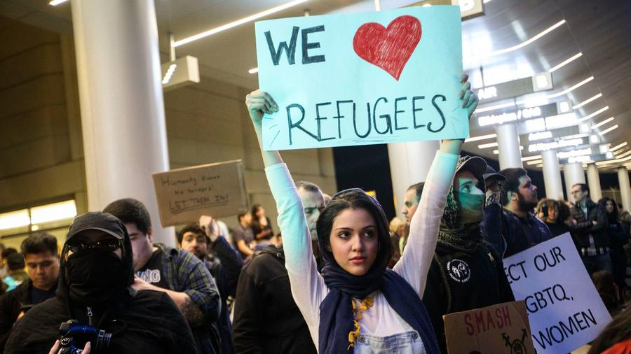 A look at the decline in refugees entering the U.S. under Trump