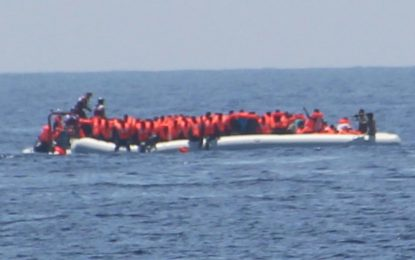 Libyan coastguard 'opens fire' during refugee rescue as deaths in Mediterranean Sea pass record 1,500