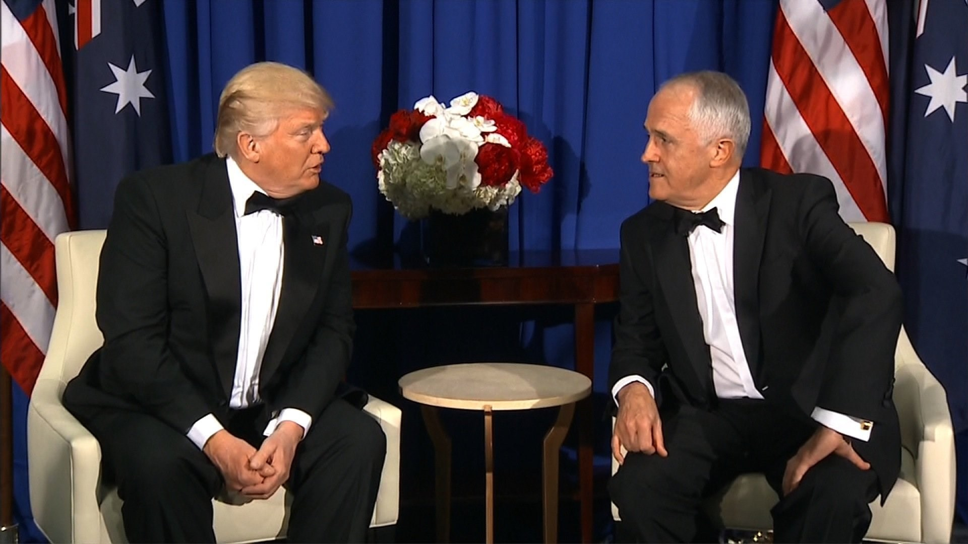 'They don't care': Refugees shocked by leaked Trump-Turnbull call
