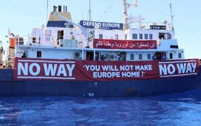 Refugee rescue boat sent to help far-right anti-immigrant ship stranded in Mediterranean with mechanical failure