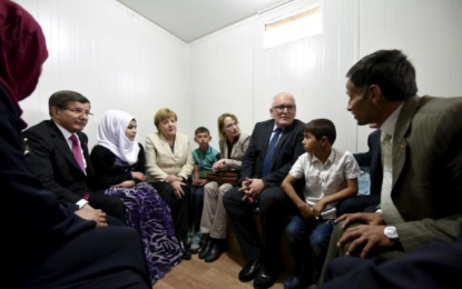 Syrian refugees in Germany name daughter Angela Merkel Muhammed