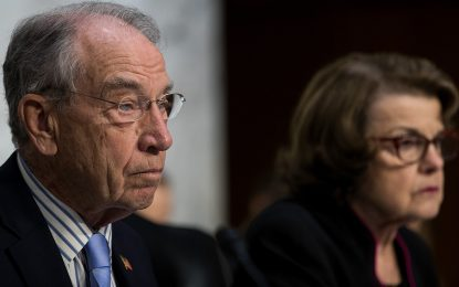 Grassley, Feinstein slam Trump for not consulting Congress on refugees