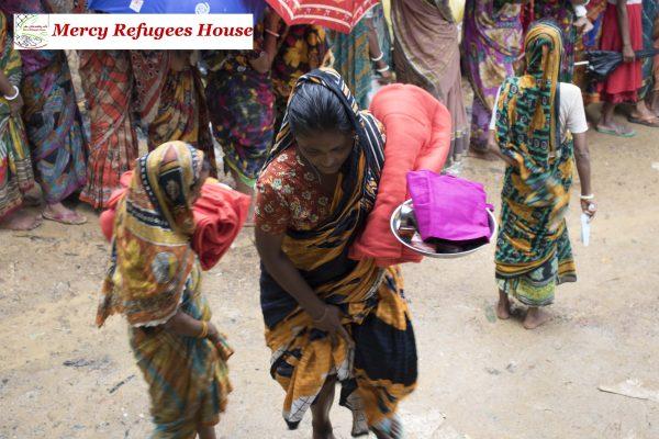 Hindu Rohingya Camp in Bangladesh