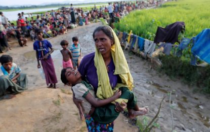 340,000 Rohingya children are starving in refugee camps; does anyone care?