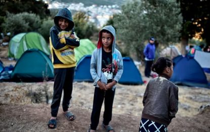 First child refugee from Greek camps comes to UK