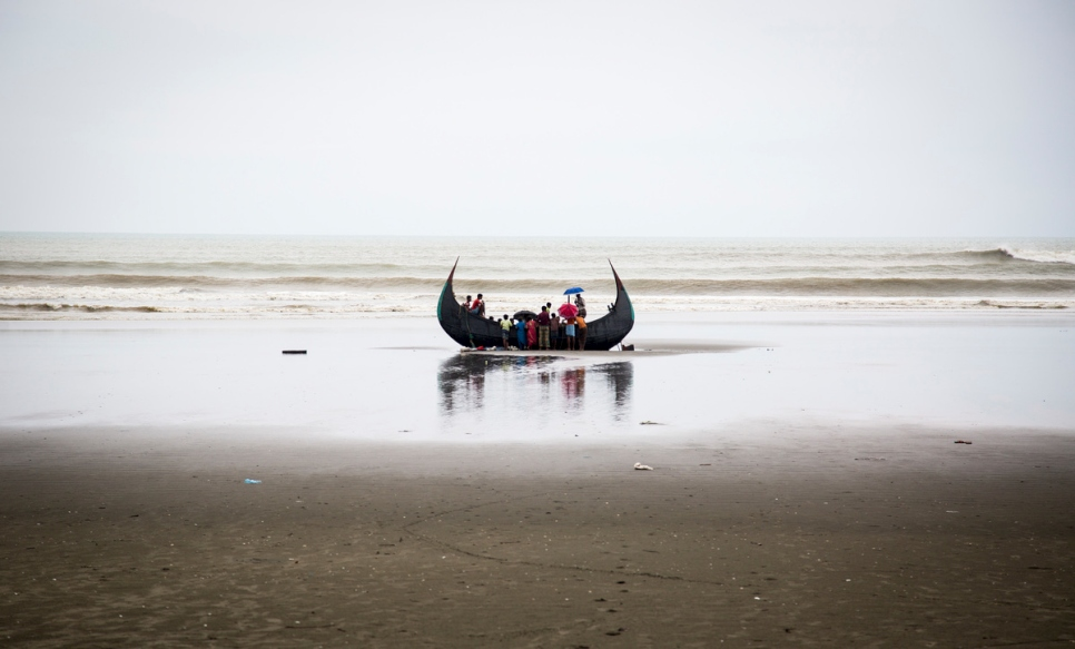 Four Rohingya refugees die as boat capsizes off Bangladesh