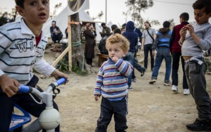 Refugees face deadly winter on Greek islands as charities call on government to prevent deaths