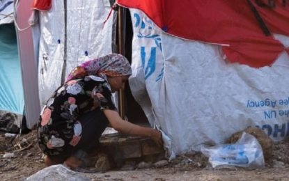 Women struggle to survive Greece's notorious refugee camp