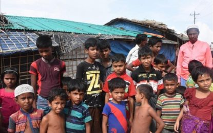 UN says Rohingya children in need of basic education