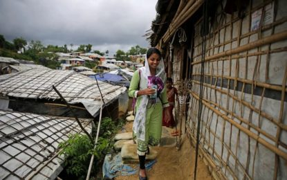 Rohingya teen dreams of higher ed from squalid refugee camp