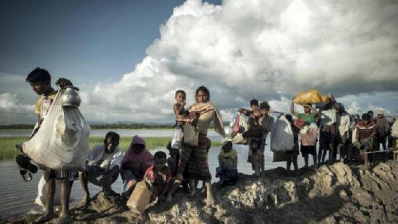 Why do the Rohingya refugees refuse to go back home?