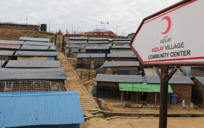 Red Crescent's Kizilay Village gives hopes to Rohingya