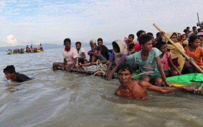 A tour through the 'floating island' that 100,000 Rohingya refugees may have to call home