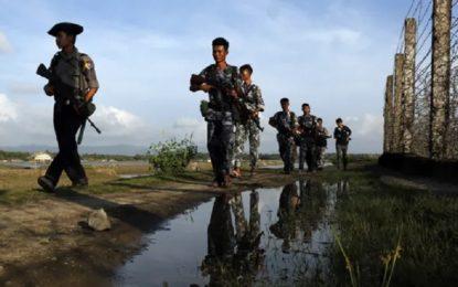 Myanmar policeman shot dead in northern Rakhine state