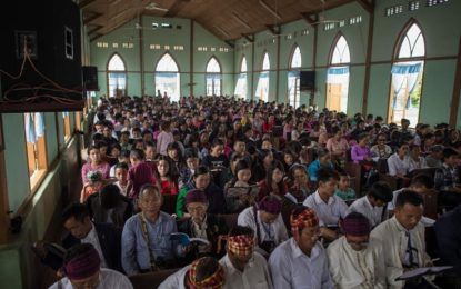 Myanmar Persecutes Christians, Too