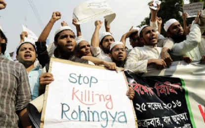 Genocide is slow strangulation of Rohingya Muslims in Rakhine