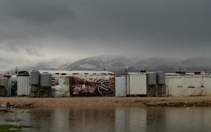 Lebanon's Syrian refugee camps battered by winter storms