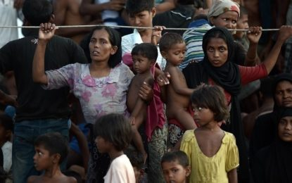 Dozens of Rohingya flee India for Bangladesh: officials