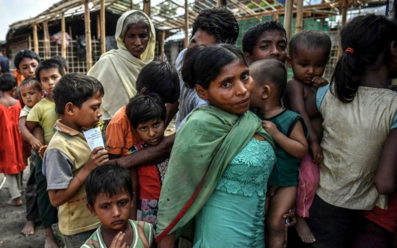 Aid for Rohingya costing taxpayers millions, says foreign minister