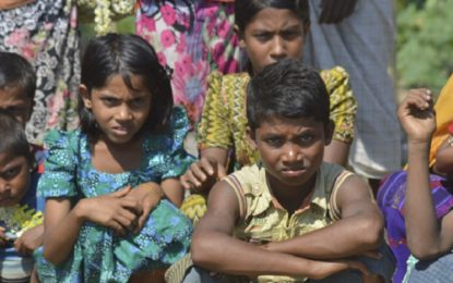 Emotional plea by Rohingyas to support refugee education