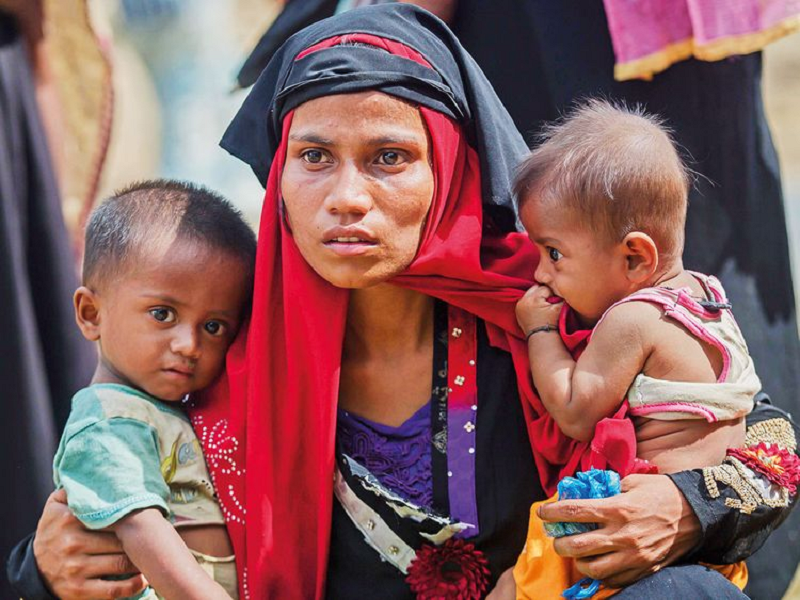 COVID-19: Lockdown drives Rohingya refugees to verge of starvation in Hyderabad