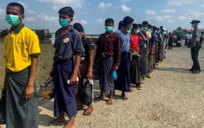 Myanmar ships 800 freed Rohingya prisoners back to Rakhine