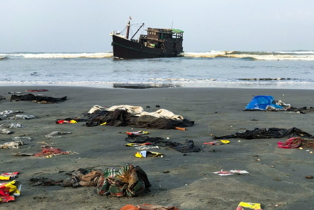 Hundreds of Rohingya Refugees Stuck at Sea With 'Zero Hope'