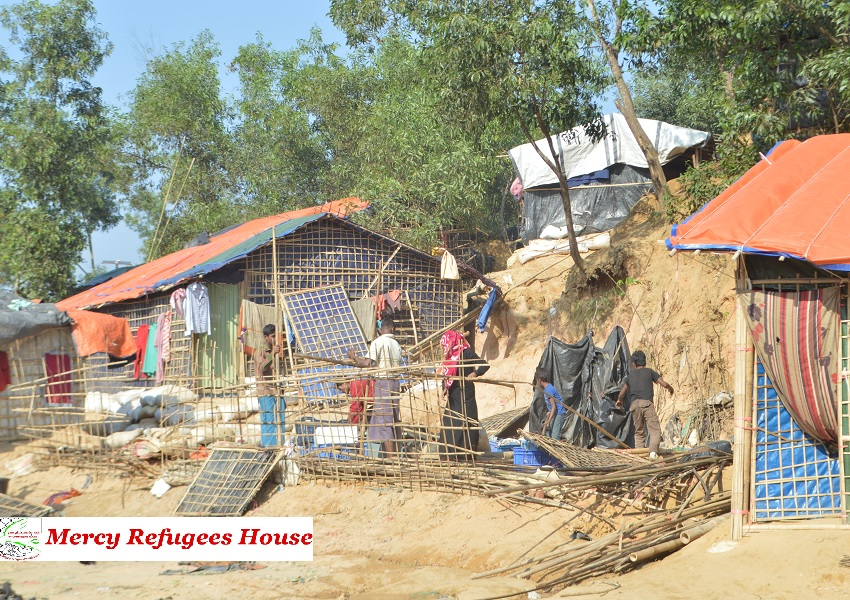 """The Army Planned """"Clearance Operations"""" as Thousands of Villagers Have Fled Their Homes in Myanmar's Rakhine state- Confirms Reuters."""