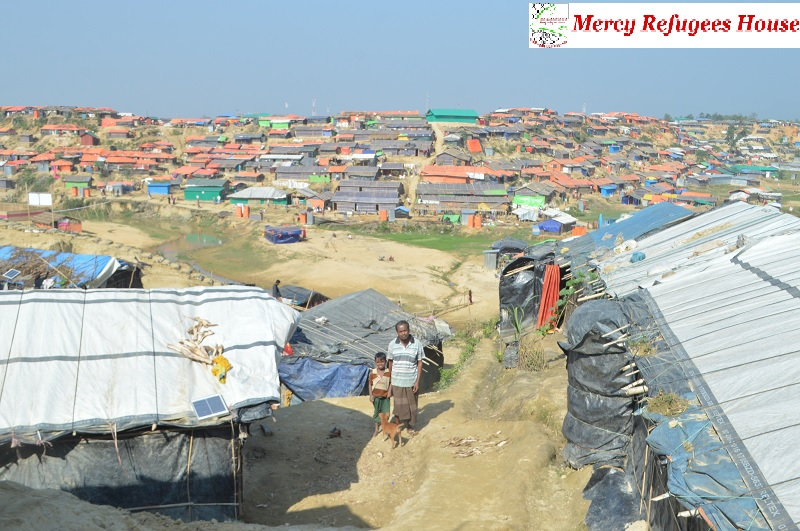 Living Tents are very Small for Many Families Since Over population in the Rohingya Camps Require More Spaces: IOM Reports