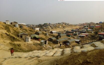 Living Tents are very Small for Many Families Since Over-population in the Rohingya Camps Require More Spaces: IOM Reports