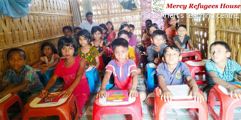 Basic Education Gap is Gonna Be a Vital Factor for the Rohingya New Generation.