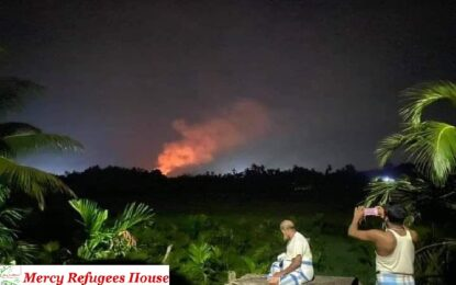 Fire in the Tents Suggest That Big Problems Are Ahead If The Real Conspiracy Behind  Not Revealed