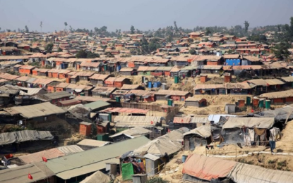 Int'l community pledges $600m for Rohingya refugees, host communities