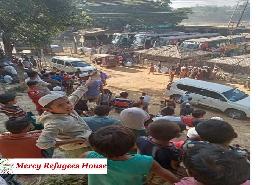 Local Reports Says That This Time 600 Rohingya Families Are Going to Bhasanchar.