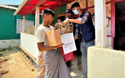 UNHCR rushing support and aid to Rohingya refugees affected by last week's massive fire