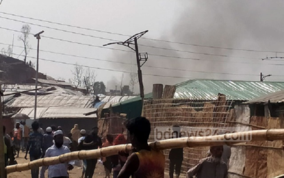 Fire at Ukhiya Rohingya camp is an act of sabotage: locals