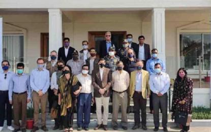 Happy with Bhasan Char facilities: Rohingyas tell visiting foreign diplomats