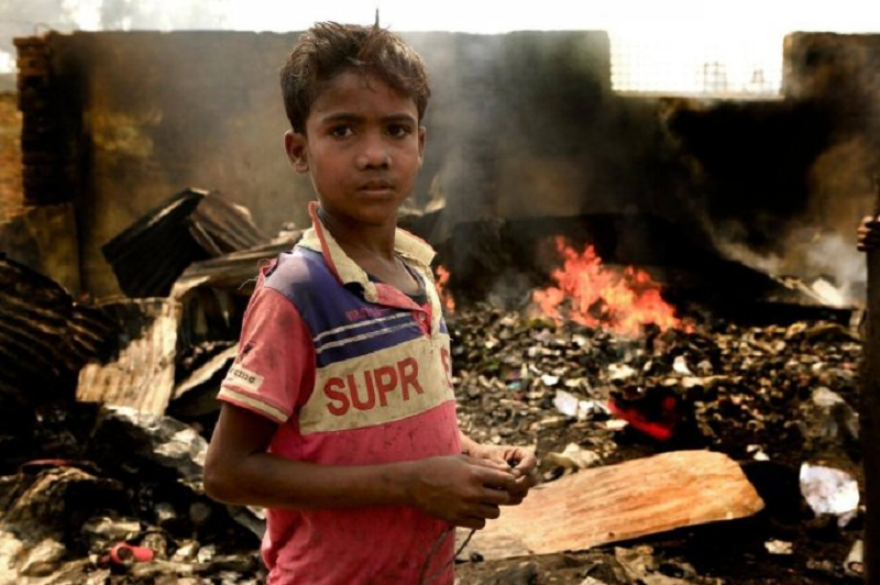 Rohingya refugees fear 'another disaster waiting to happen' after 84 fires in just four months – more than 2020 total